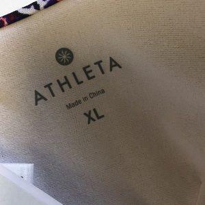 Athleta Swim - Athleta Aqualux Print Molded Bikini Top